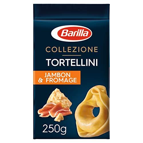 Barilla Tortellini - Pasta forrada con jamón y queso (250 g, 5 unidades)