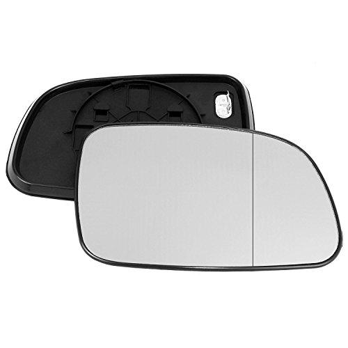 Driver laterale destra riscaldata anta vetro argento specchio con piastra di # w-shy//r-sb9302/ clip-on
