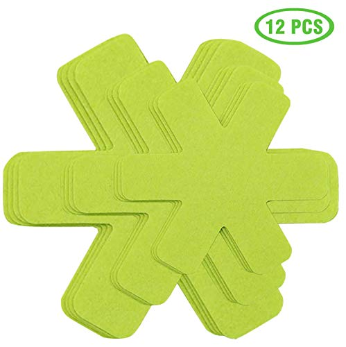 Pot and Pan Protectors, Set of 12 and 3 Different Size, Pot Dividers Pad to Prevent Scratching, Separate and Protect Surfaces of Your Cookware…
