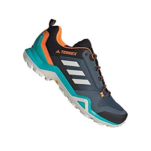 adidas Terrex AX3 GTX, Zapatillas de Hiking Hombre, AZULEG/Griuno/NARSEN, 42 2/3 EU