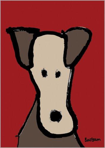 Bartram in 5-delige set: Stuur een wenskaart met de mens beste vriend - de hond