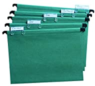 Cathedral Value A4 Manilla Suspension Files - Green (Pack of 50)