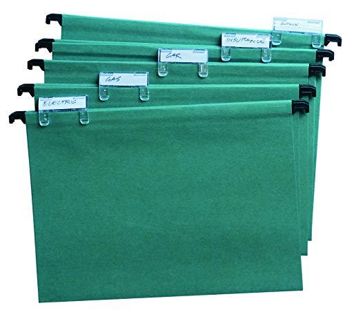 Cattedrale Value cartelle sospese A4manilla, colore: Verde (confezione da 50)
