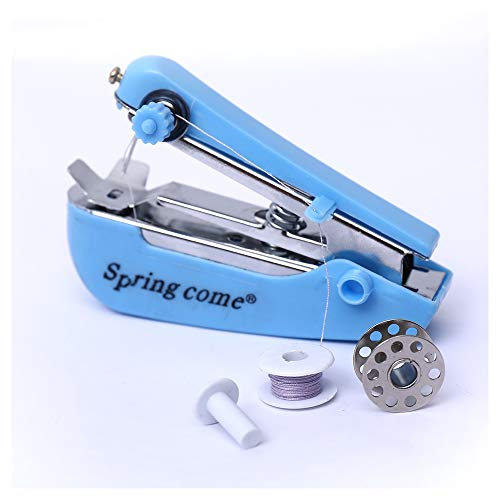 Sewing Machines, Hand Sewing Machine, Mini Cordless Handheld Electric Stitch Tool for Fabric, Clothing, Kids Cloth, Home Travel Use