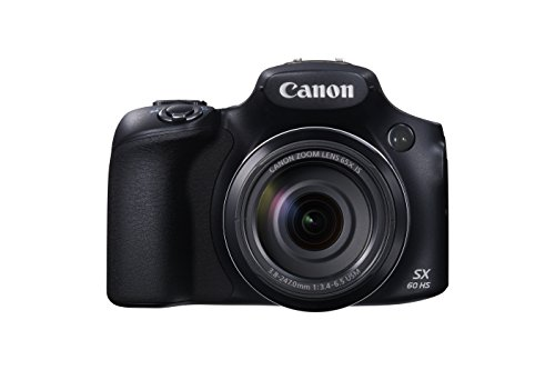 Canon PowerShot SX60 HS Digitalkamera (16,1 MP, 65x opt. Zoom, WiFi, NFC) schwarz