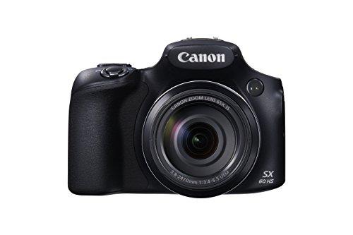 Canon PowerShot SX60 HS - Cámara compacta de 16.8 Mp (pantalla de 3', zoom óptico 65x,...
