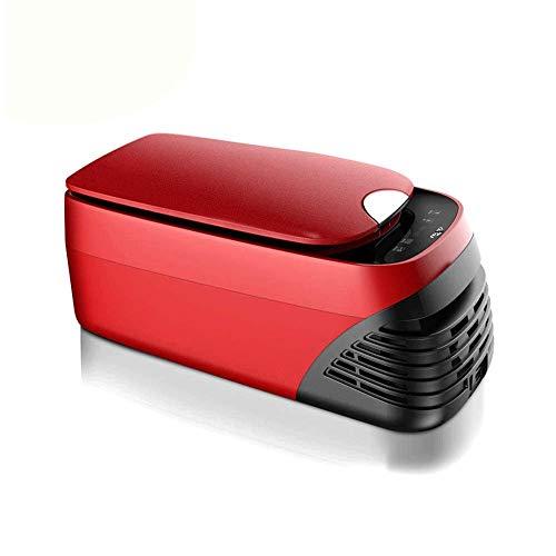 Z-Color Portable Frigo 8 Litri, Small Car Frigorifero, 12V / 24V / 110~240V Alimentato Raffreddamento Aumento della Temperatura, Pannello LCD Digitale, Muto, Mini Frigorifero dell'automobile Frigori