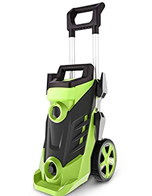 Homdox 3490PSI Pressure Washer, 2.6GPM Electric Pressure Washer, 1800W High Car Pressure Washer, Power Washer with 4 Adjustable Nozzle, Soap Bottl