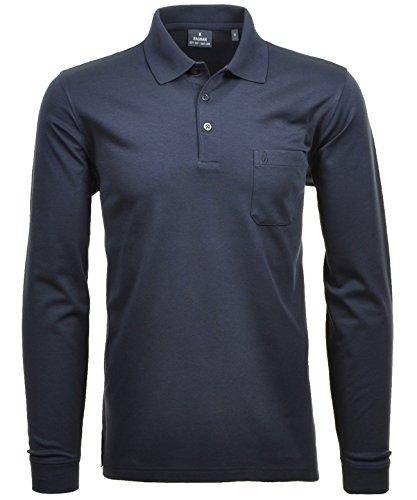 Ragman Herren-Poloshirt, Marine, 3XL