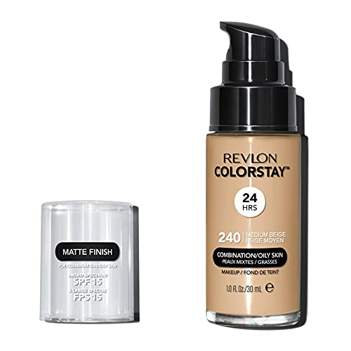 Revlon ColorStay Base de Maquillaje piel mixto/graso FPS15 (#240 Medium Beige) 30ml