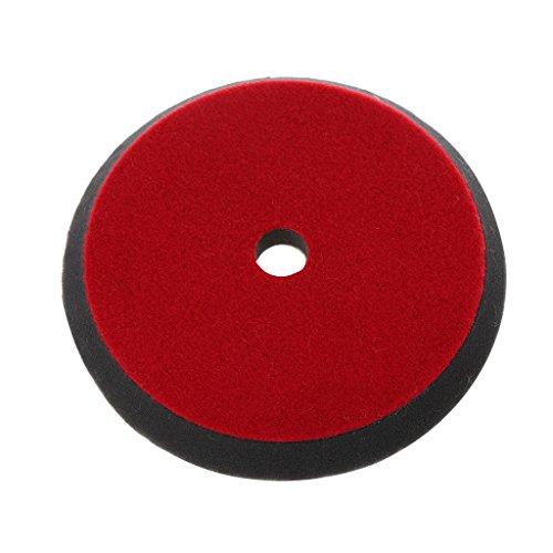 AniYY Almohadilla de pulido para coche, 180 mm, 7 pulgadas, lana suave, detalles profesionales, colores mixtos