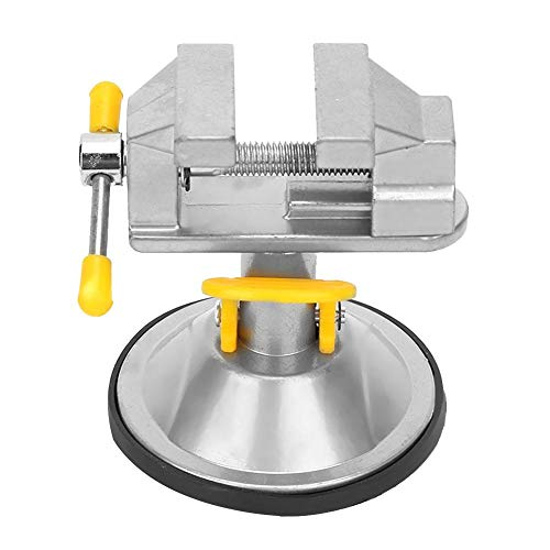 Vise Suction Cup Compact 360 Degrees Rotation Stable Vise Table with A Package of Accessories