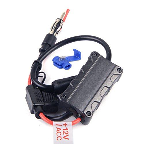 CITALL Le rehausseur stéréo d'amplificateur de Signal d'AM FM de Radio d'antenne de Voiture renforce l'AMP