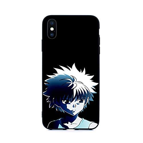 GAOLONGQ Funda de teléfono de Anime japonés, Funda Protectora a Prueba de Golpes, para iPhone 7p / 8p / XS/XR/XSMAX / 11/11 Pro / 11 Pro MAX / 12/12 Pro/SE,A,iPhone 6s