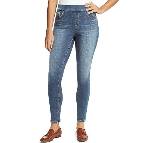 NINE WEST Heidi Pull-On Skinny Jeans Blue 12