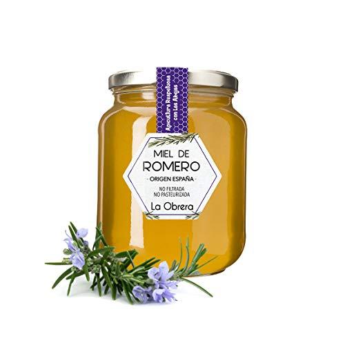 La Obrera - Reiner Honig aus Rosmarin - 100% Herkunft Spanien - 950 g