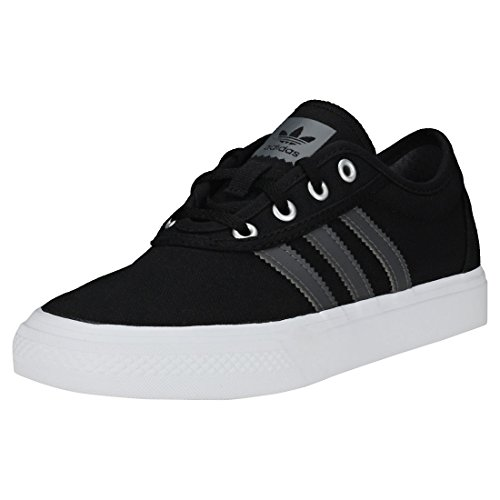 adidas Adi-Ease J Chaussures de Skateboard Mixte Enfant, Noir (Negbás/Gricua/Ftwbla 000) 37 1/3 EU