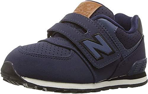 New Balance New Balance, Unisex-Kinder Sneaker, Blau (Blue/black), 40 EU (6.5 UK)