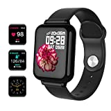 Maypott Fitness Tracker Watch, Smartwatch Activity Tracker with Heart Rate Monitor, 1.3' Color Screen Sport Watches with Blood Pressure Sleep Monitor Step Calorie Counter Waterproof for Women Men Kids