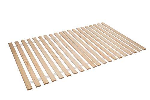 AZZAP Rollrost 120x200cm Rolllattenrost Lattenrost Bettrost Holzlatten 20 Latten Rost
