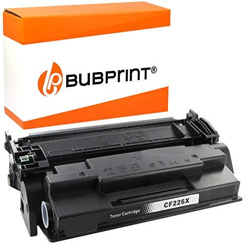 Bubprint - Tóner XXL compatible con HP 26X CF226X 12000 páginas, LaserJet Pro M402 M402D M402DN M402DNE M402DW M402M M402N MFP M426 M426DN M426DW M426FDN M426FDW M426FW M426M M426N