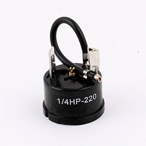 sourcingmap® 1/4 per HP-220 Frigorifero Frigorifero compressore termico cablata dispositivo protezione contro sovraccarico