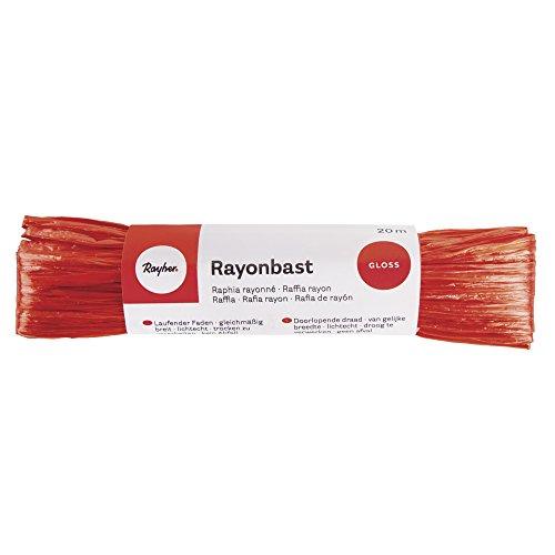 100/% Viskose verschiedene Farben Raffiabast Rayonbast 20m glänzend