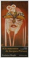 ポスター ジャック プレヴェール Papillon 1987 額装品 アルミ製ベーシックフレーム
