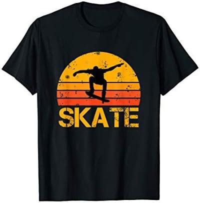Skateboarder Retro Vintage Skateboarding T Shirt product image