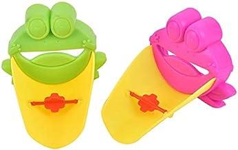Musuntas 2 stuks kraan verlenging kraan extender voor kinderen baby handen wassen badkamer cartoon dier design hand wassen...
