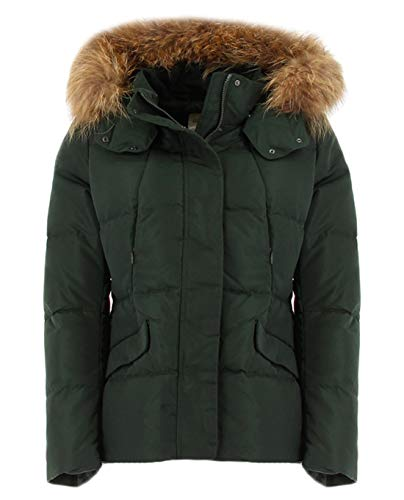 Bomboogie grüne Daunenjacke für Damen XL