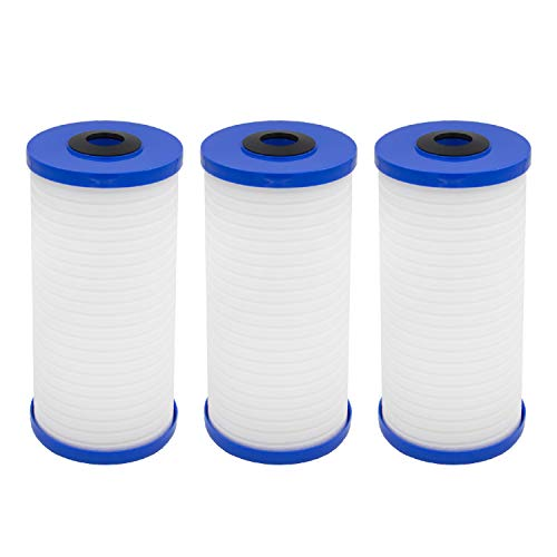 Waterspecialist AP810 Whole House Water Filter, Replacement for 3M Aqua-Pure AP810, AP801, AP811, Whirlpool WHKF-GD25BB, Pack of 3