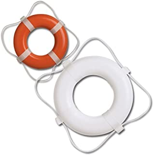 Taylor Made Products 366 USCG Approved Foam Life Ring (20, Orange)