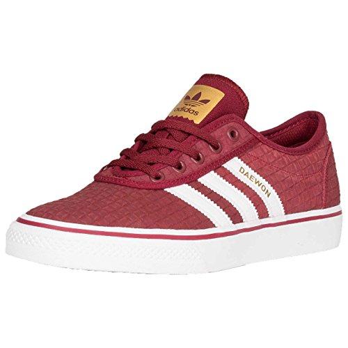 adidas Men's Adi-Ease Gymnastics Shoes, Red (Collegiate Burgundy/FTWR White/Gold Met. Collegiate Burgundy/FTWR White/Gold Met.), 12.5 UK