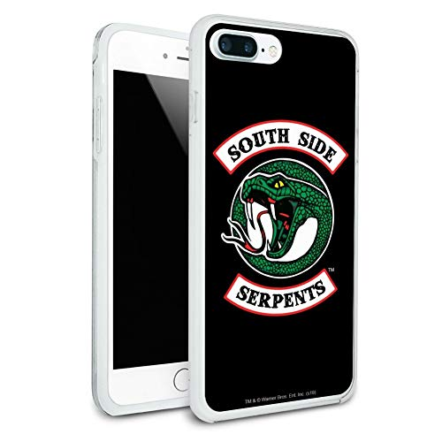 Riverdale South Side Serpents Protective Slim Fit Hybrid Rubber Bumper Case for Apple iPhone 7 and 7 Plus