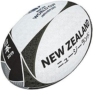 RWC2019* RWC2019 ラグビーワールドカップ 2019 ギルバート サポーターボール ニュージーランド フラッグボール 5号 オールブラックス * QC215