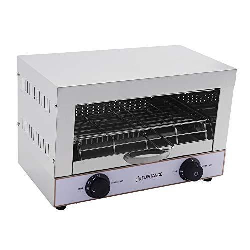 Toaster 1 Etagen, Quarz, Griller, Salamander, mit Timer