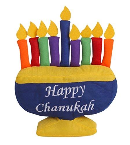 Children's Plush Hanukkah Menorah 10'