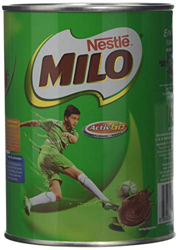 Milo Instant Malt Chocolate Powder, 400 g (Pack of 6)