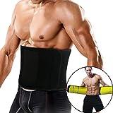 Magicfun Fitness Gürtel, Taillen Trimmer mit Neoprenmaterial Schwitzgürtel zur Fettverbrennung und...