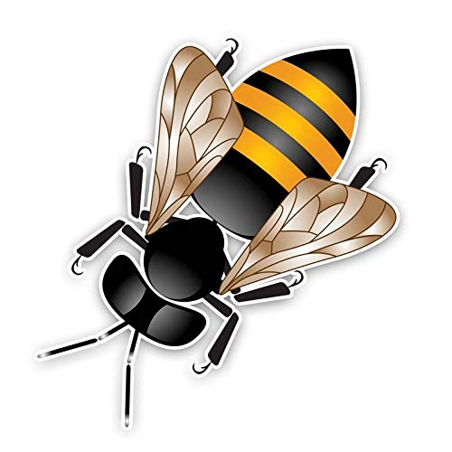 SSQ Personality Bee Car Sticker Decal 14.2Cm*15.3Cm