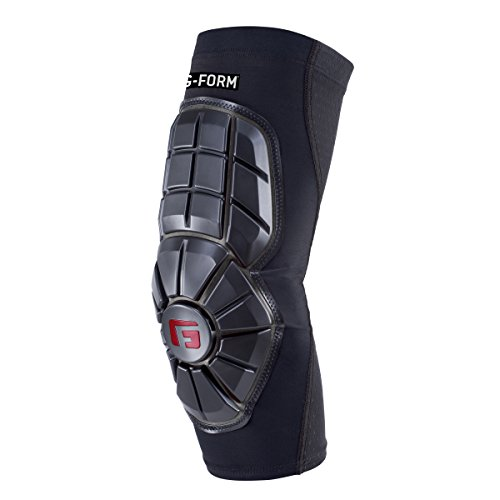 G-Form Youth Baseball Pro Extended Elbow Guard, Black, Youth Large/X-Large