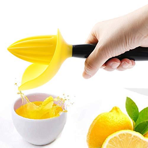 Exprimidor manual de limón Lachi naranja multifuncional desmontable exprimidor de frutas con pelado y filtro incorporado