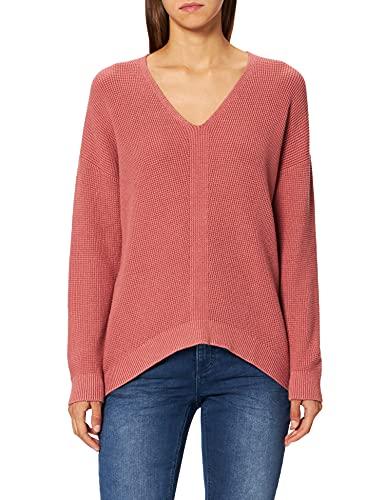edc by ESPRIT Damen 999CC1I803 Pullover, 645/CORAL, S