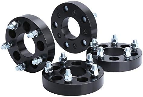 Wheel Adapters for Jeep JK Wheels on TJ YJ KK SJ XJ MJ KSP 5X4 5 to 5x5 Wheel Spacers 1 2 Thread product image
