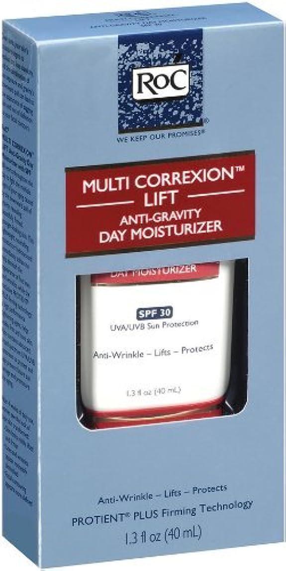 違反中性寛解ロック マルチコレクション リフト アンチグラビティ デイリーモイスチャライザー(SPF30) RoC Multi-Correxion Lift Anti-Gravity Daily Moisturizer With SPF 30 (海外直送品)