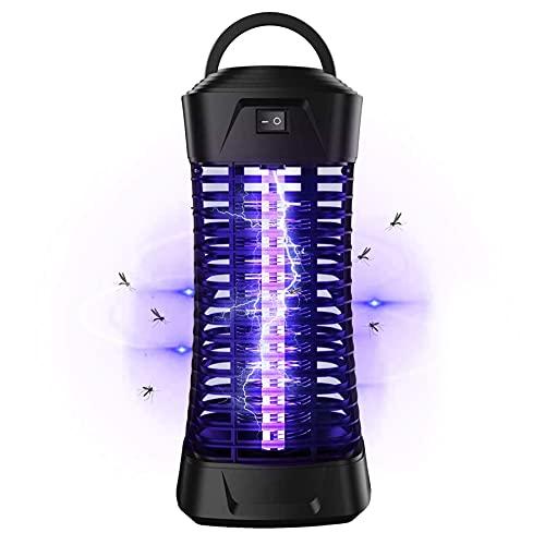 Lukasa UV Insektenvernichter, Elektrische Mückenfalle Moskito Killer Insektenfalle Mückenfalle bis 35m² Innen Aussen