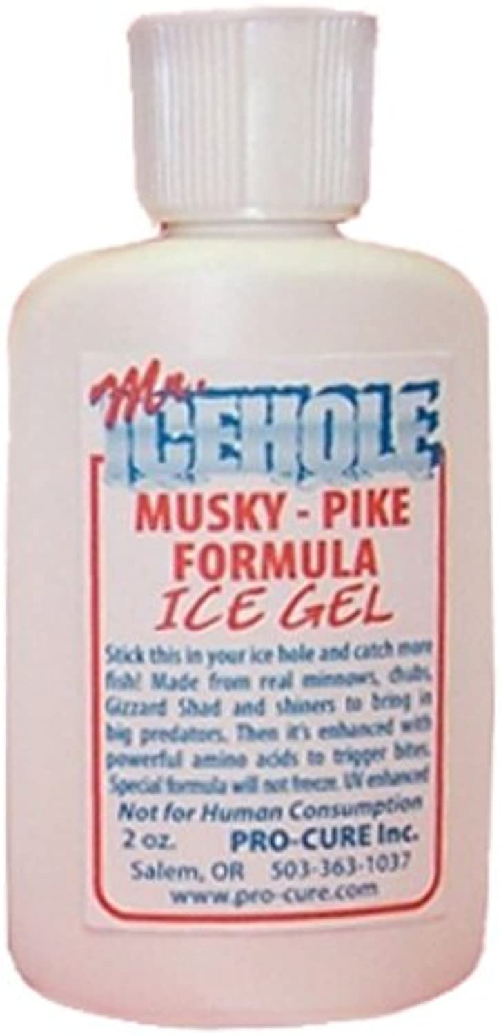 Pro-Cure Bait Scents M2-MUS Mr.Icehole Musky Pike Gel, 2-Ounce