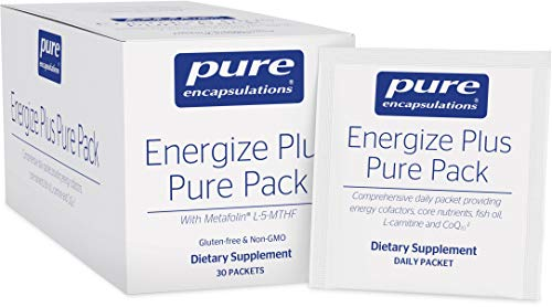 Pure Encapsulations - Energize Plus Pure Pack - Dietary Supplement for Cellular Energy Production and Nutrient Metabolism - 30 Packets