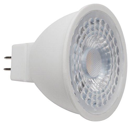 MÜLLER-LICHT LED Reflektorlampe ersetzt 40 W, Plastik, GU5.3, 6.5 W, Weiß, 5 x 5 x 4.7 cm